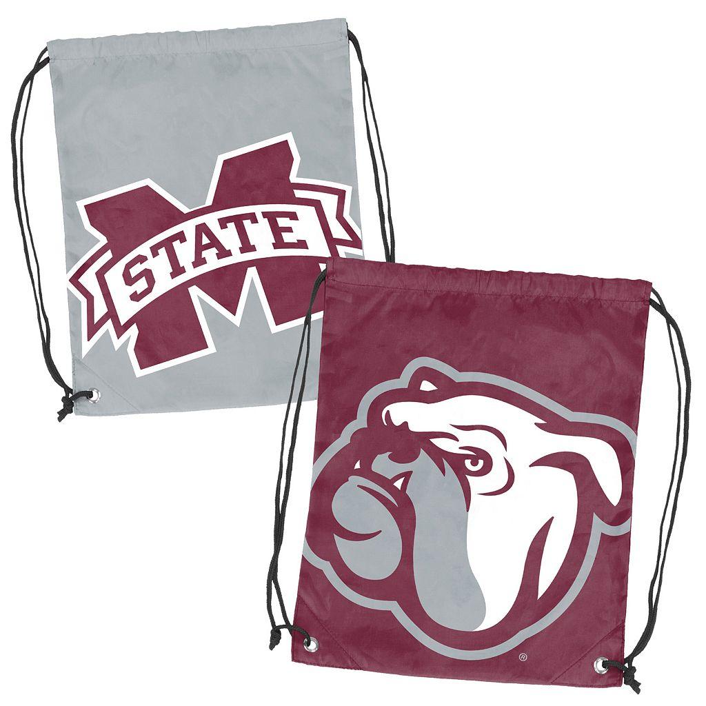 Logo Brand Mississippi State Bulldogs Double Header Reversible Backsack