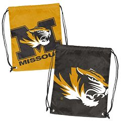 Logo Brand Missouri Tigers Double Header Reversible Backsack