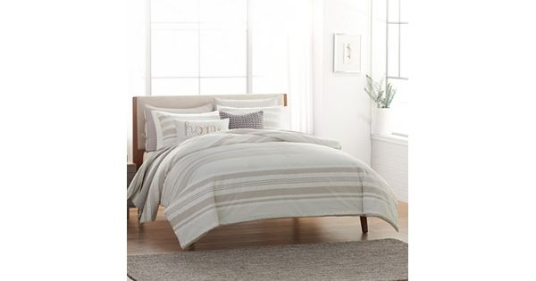 Sonoma Goods For Life 3 Piece Porter Duvet Cover Set