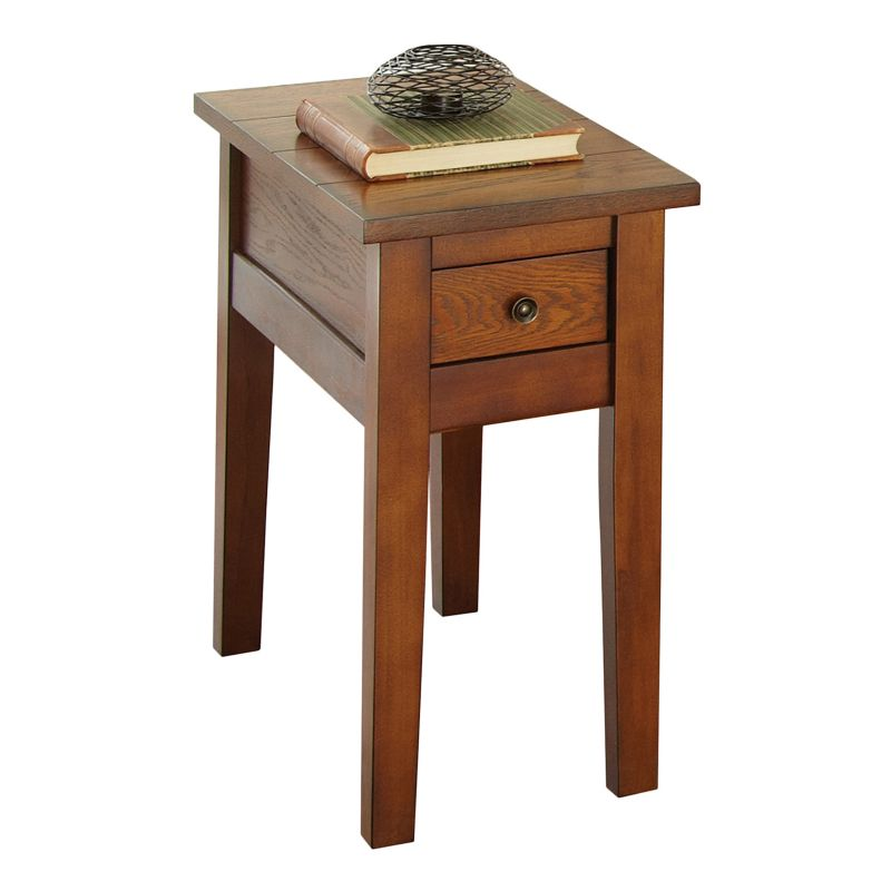 Desoto Chairside End Table, Red