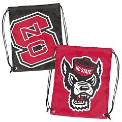 Logo Brand North Carolina State Wolfpack Double Header Reversible Backsack
