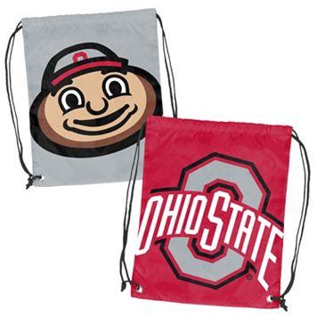 Logo Brand Ohio State Buckeyes Double Header Reversible Backsack