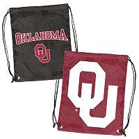Logo Brand Oklahoma Sooners Double Header Reversible Backsack
