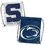 Logo Brand Penn State Nittany Lions Double Header Reversible Backsack