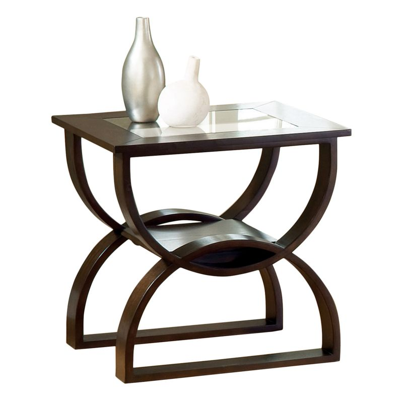 Dylan End Table, Red