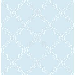 Nu Wallpaper Quatrefoil Wallpaper