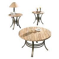 Ellen Coffee & End Table 3-piece Set