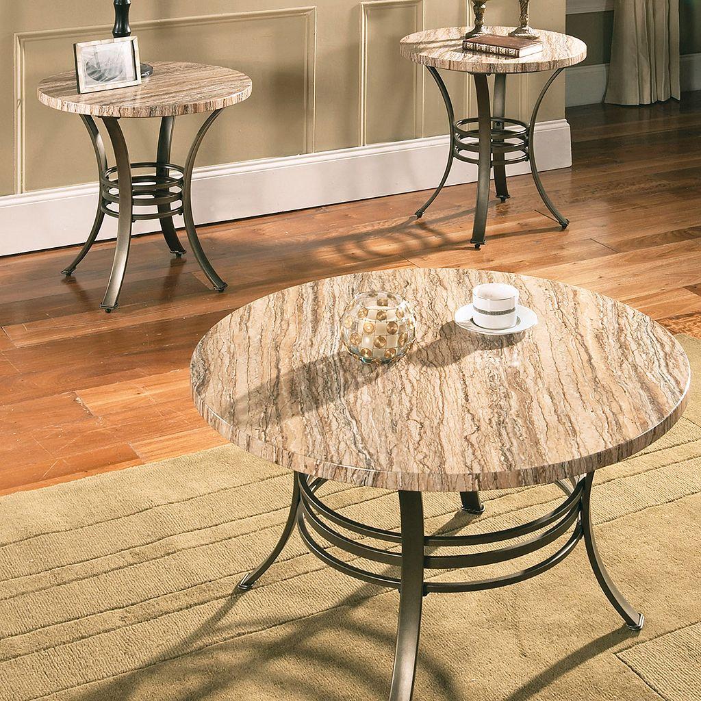 Ellen Coffee & End Table 3-piece Set