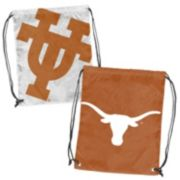 Logo Brand Texas Longhorns Double Header Reversible Backsack