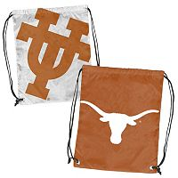 Logo Brand Texas Longhorns Double Header Reversible Backsack
