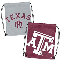 Logo Brand Texas A&M Aggies Double Header Reversible Backsack