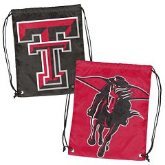Logo Brand Texas Tech Red Raiders Double Header Reversible Backsack