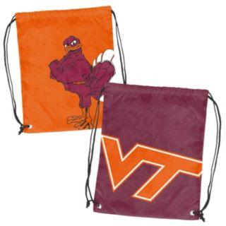 Logo Brand Virginia Tech Hokies Double Header Reversible Backsack