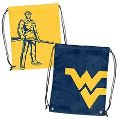 Logo Brand West Virginia Mountaineers Double Header Reversible Backsack