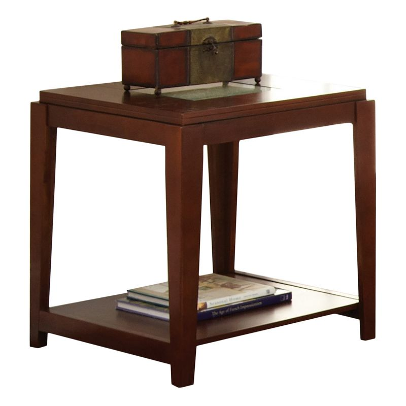 Ice End Table, Brown