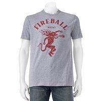 Men's Fireball Whiskey Dragon Tee