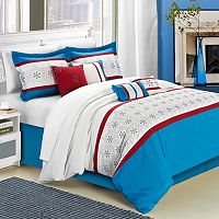 Chic Home Bella Rose 8 pc Embroidered Bed Set