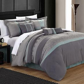 Chic Home Euphoria 8-piece Embroidered Bed Set