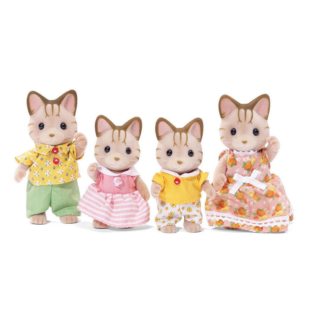 Calico Critters Sandy Cat Family Set by International Playthings