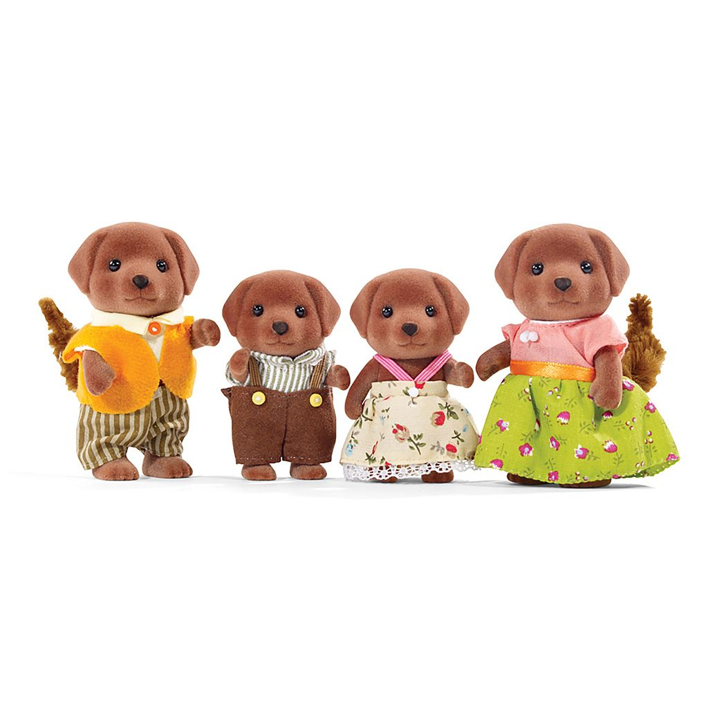 Calico Critters Chocolate Labrador Family Set by International Playthings