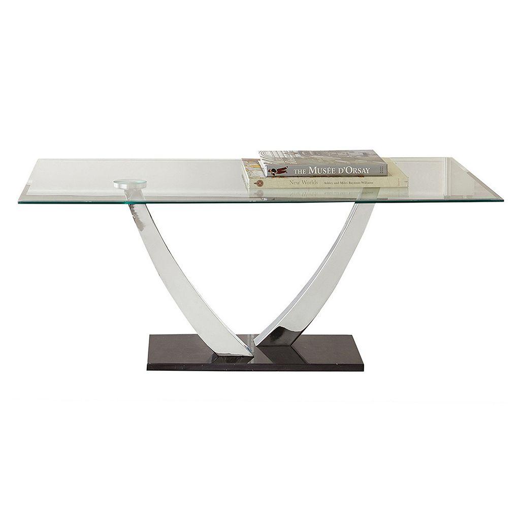 Kaylee Glass Coffee Table
