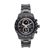Seiko Men's Sportura Stainless Steel Solar Chronograph Watch - SSC373