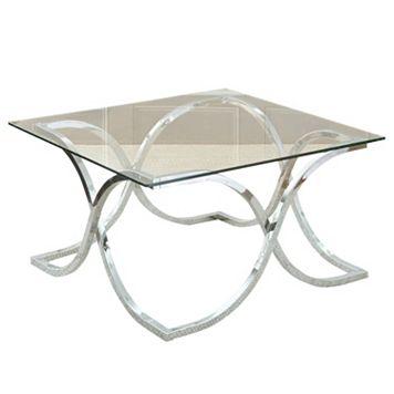Leonardo Glass Coffee Table