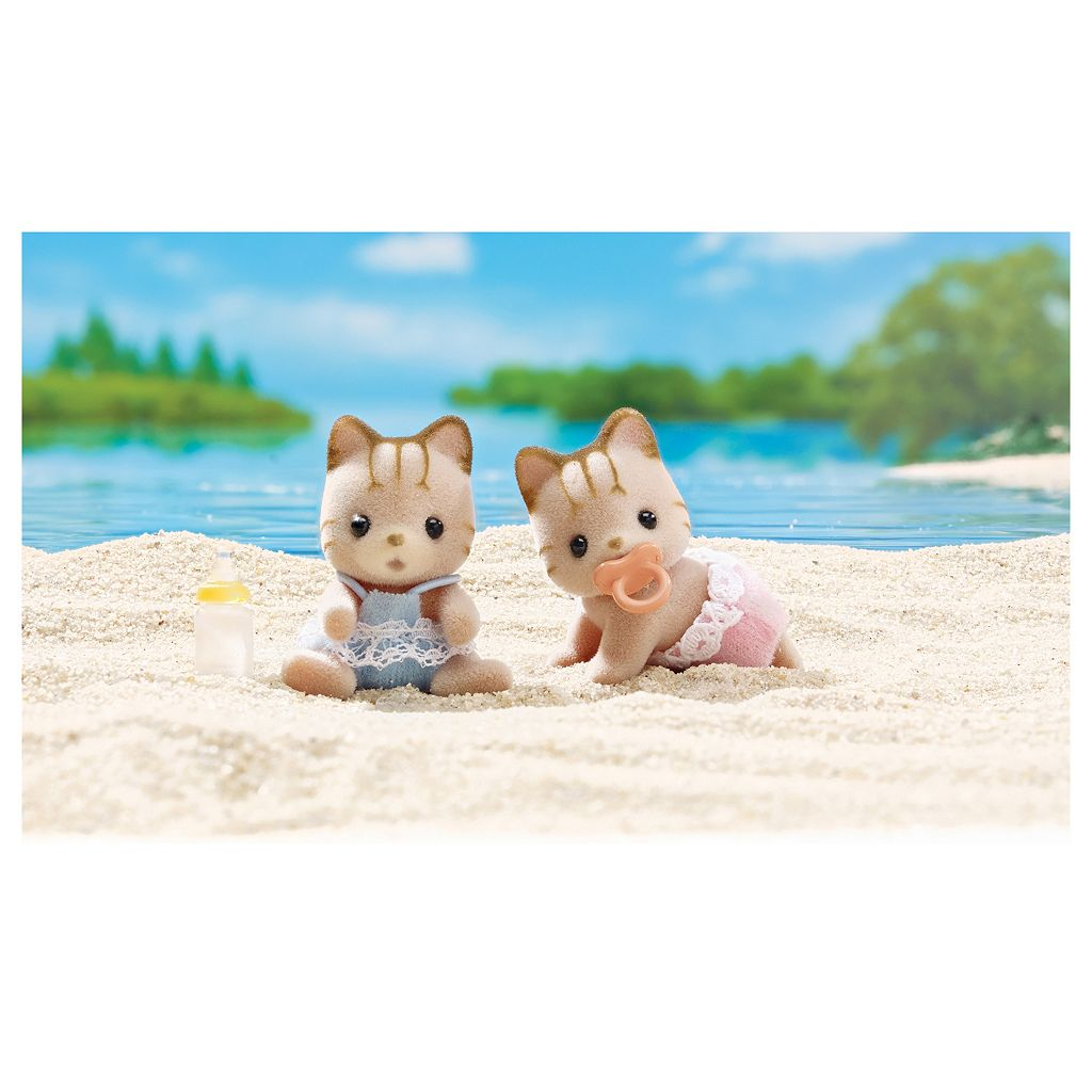 Calico Critters Sandy Cat Twins Set by International Playthings