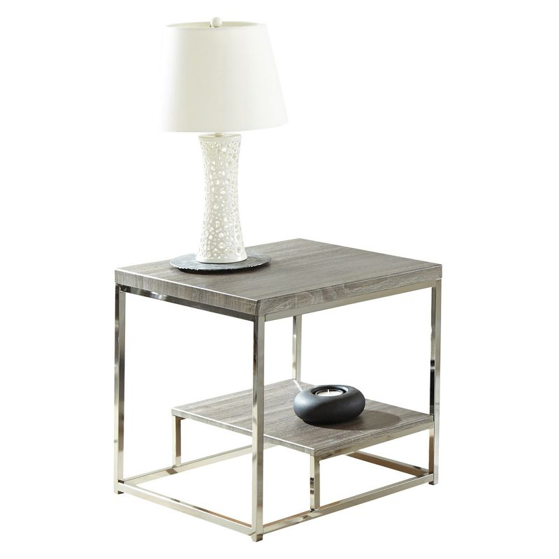 Lucia End Table, Black