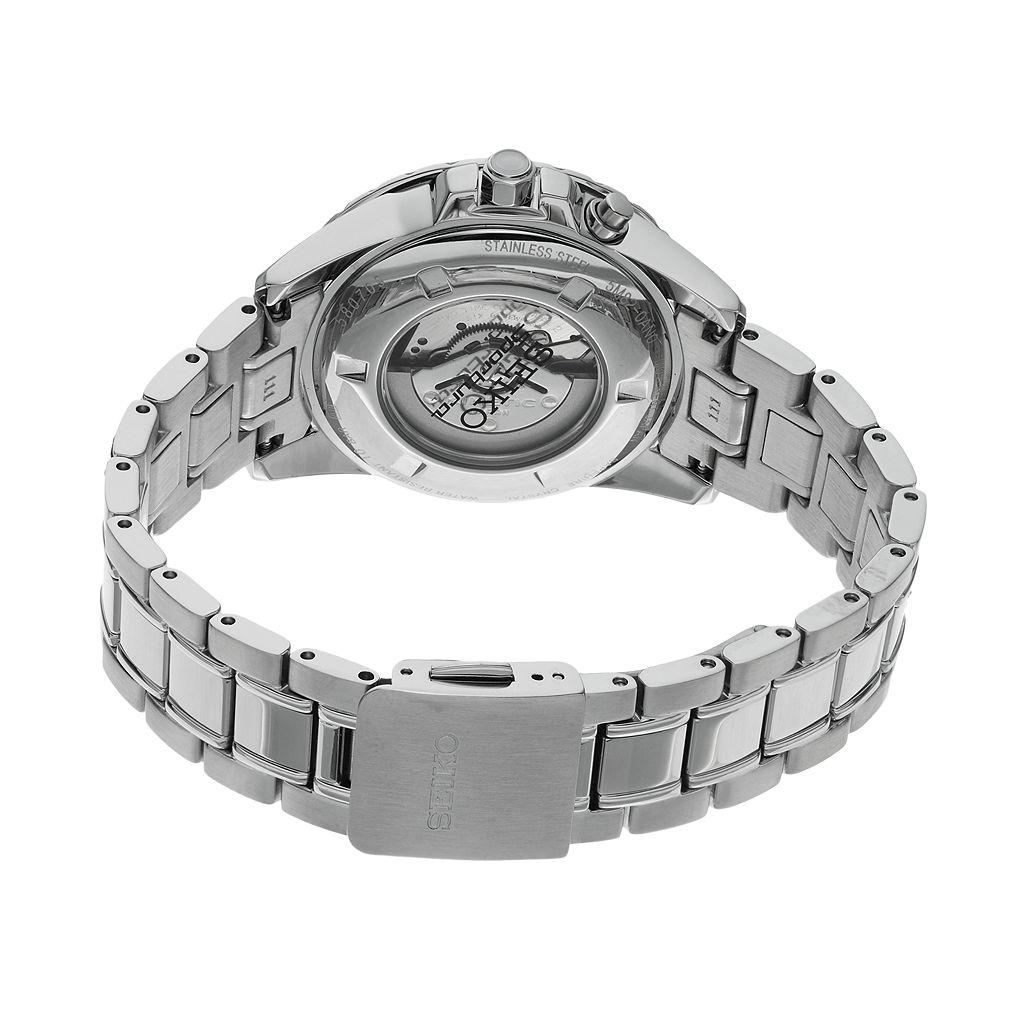 Seiko Men's Sportura Stainless Steel Solar Chronograph Watch - SSC357