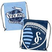Logo Brand Sporting Kansas City Double Header Reversible Backsack
