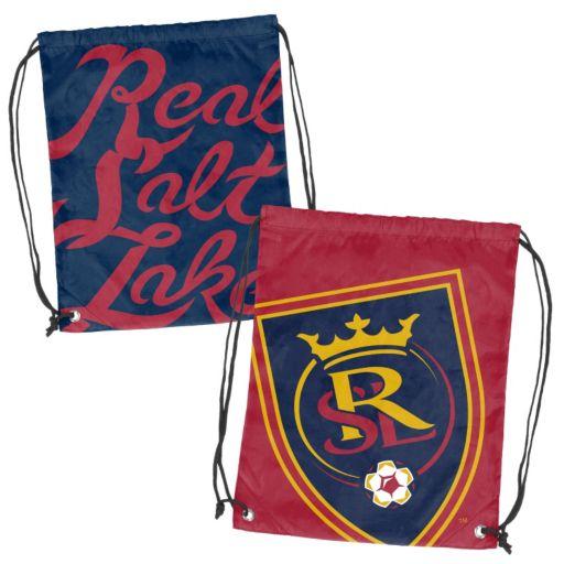 Logo Brand Real Salt Lake Double Header Reversible Backsack