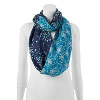 Keds Reversible Floral Infinity Scarf