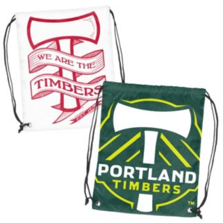 Logo Brand Portland Timbers Double Header Reversible Backsack