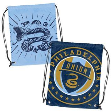 Logo Brand Philadelphia Union Double Header Reversible Backsack