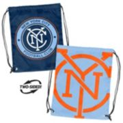 Logo Brand New York City FC Double Header Reversible Backsack