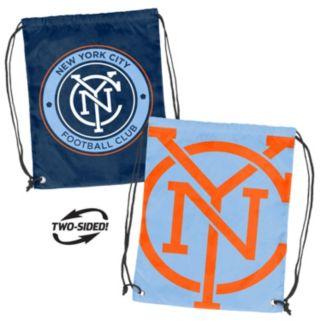 Logo Brand New York City FC Double Header Reversible Backsack
