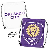 Logo Brand Orlando City SC Double Header Reversible Backsack