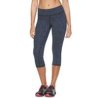 Women's Tek Gear® DRY TEK Space-Dye Capri Workout Leggings