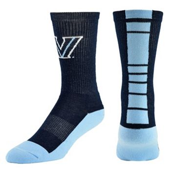 Men's Mojo Villanova Wildcats Champ 1/2-Cushion Performance Crew Socks
