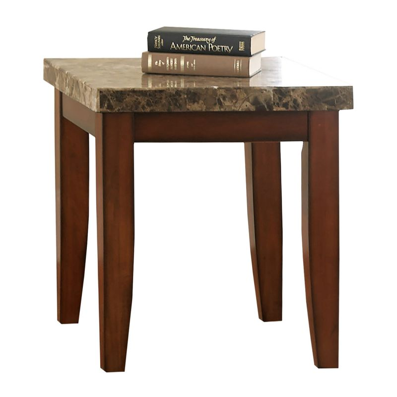 Montibello End Table, Red