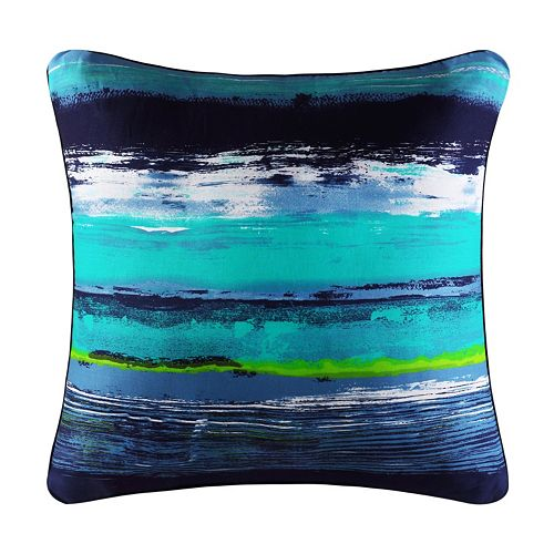 37 West Cameron Square Throw Pillow