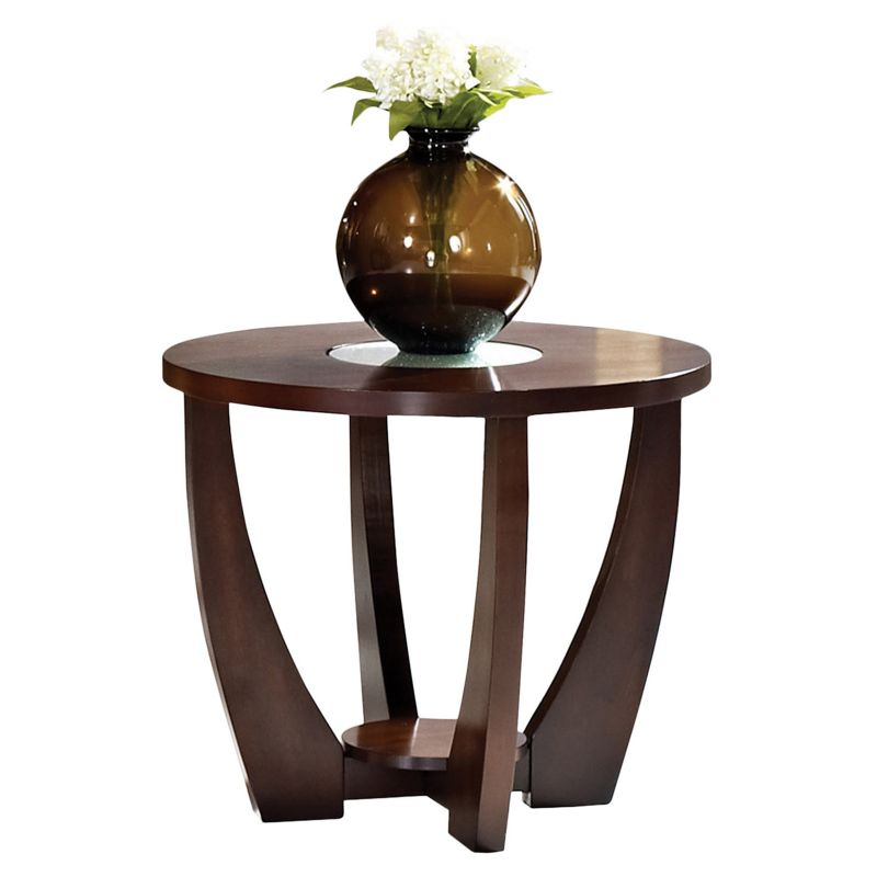 Rafael End Table, Red