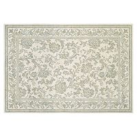 Couristan Provincia Lakely Framed Floral Rug
