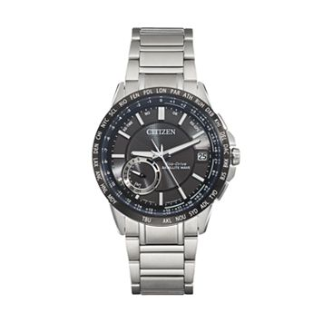 Citizen Eco-Drive Men's Satellite Wave World Time GPS Watch - CC3005-85E
