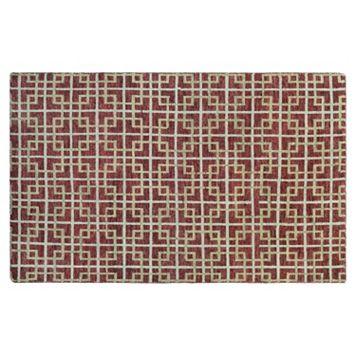 Couristan Retrograde Galaxy Geometric Wool Rug