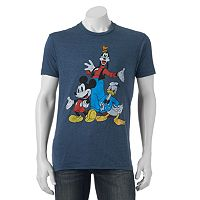 Men's Disney's Mickey Mouse, Goofy & Donald Duck Trio Tee