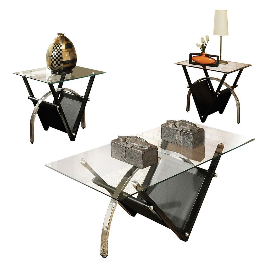 Tribecca 3-piece Coffee & End Table Set