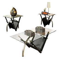 Tribecca 3-piece Coffee & End Table Set