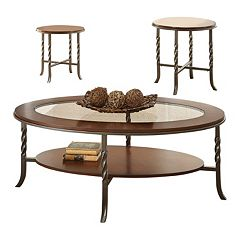 Vance Coffee Table & End Table 3 pc Set